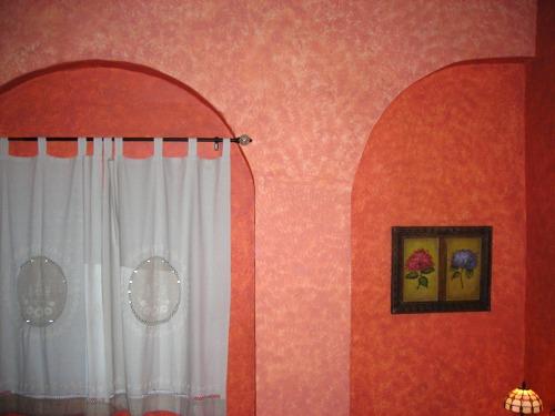 Habitacion Valdespino; arcos interiores cubiertos.- Casa Rural Rincón de las Nieves