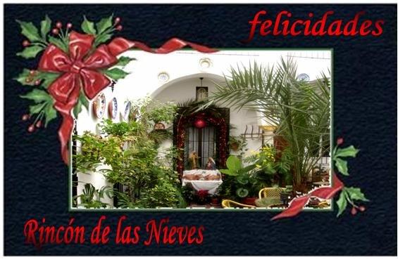 Felicitación de Navidad de Bed & Breakfast Rincón de las Nieves