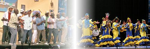 Escenas de carnaval de 2008 y 2009