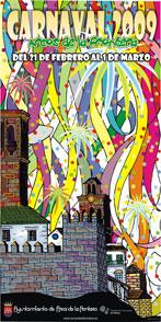 Cartel Carnavales 2009 Arcos de la Frontera (Cádiz)