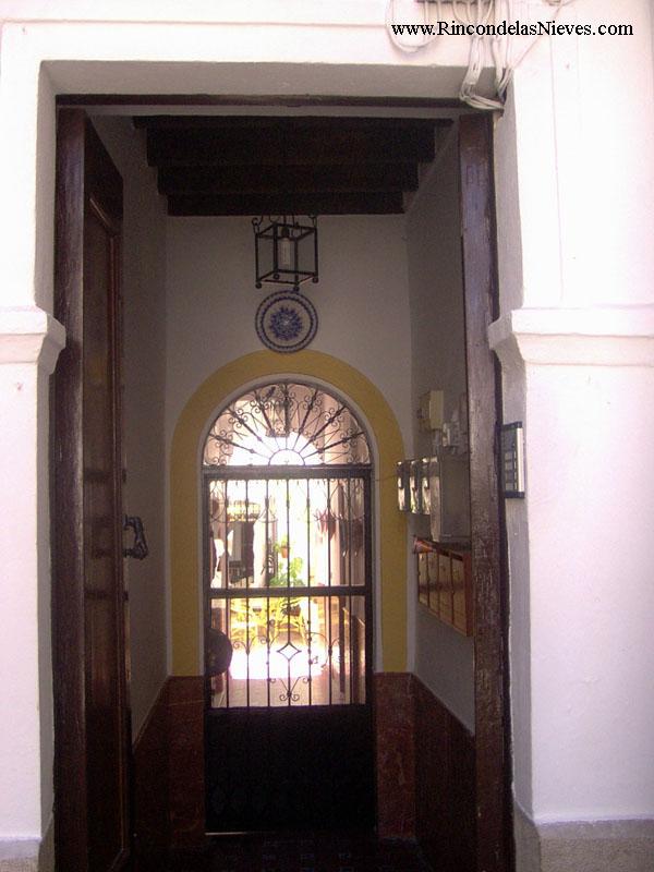 Entrada casa rural Rincón de las Nieves (Arcos de la Frontera)