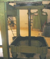 Prensa de aceite. Cortijo del olivar (Arcos de la Frontera)