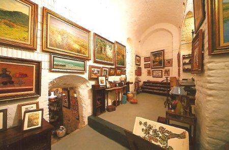 Capilla de la Annunziata convertida a galería